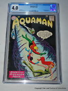 Aquaman 11 Cgc 4.0 1st Appearance Of Mera And Cover Quisp Appearance Key
