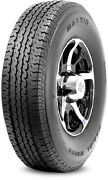 2 New Maxxis M8008 St Radial - St205/75r14 Tires 2057514 205 75 14