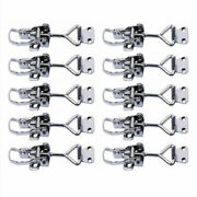 10x Stainless Steel Toggle Latch Hatch Clamp Fastener Lock For Boat/door/cabinet