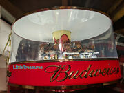Red Top Budweiser Carousel Clydesdale Horse Parade Light Synchron Motor Only New