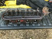Ih Farmall 340 Row Crop Cylinder Head With Valves From Good Running Tractor