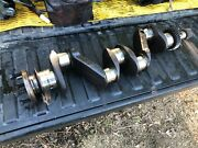 Ih Farmall 340 Row Crop Crankshaft Assembly Out Of Running Tractor