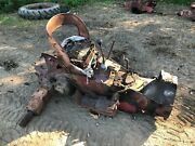 Ih International 340 Utility Rear End And Transmission From Running Tractor