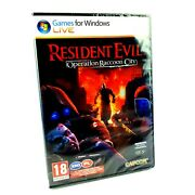 Brand New Sealed Resident Evil Operation Racoon City Pc Very Rare Edition Pl