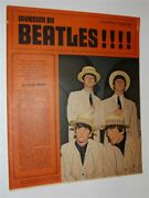 Star Weekly Magazine March 1964 Invasion By The Beatles Newspaper Mag Toronto