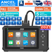 Ancel Dpf Abs Epb Tps Immo Oil Reset Diagnostic Scanner Tool Obd2 Code Reader