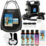 Ultra Pro Qc Sunless Airbrush Spray Tanning System Simple Tan 12 Solution Tent