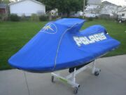 Polaris Genesis Cover Ocean Blue And Yellow With Dealer Logo New Oem