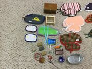 Breyer Horse Stable Supplies, Horses, Tack, And Blankets Lot