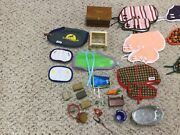 Breyer Horse Stable Supplies Horses Tack And Blankets Lot