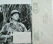 General Frank Merrill Autograph And039merrilland039s Maraudersand039 Signed War Dated Signature
