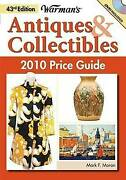 Very Good-warmans Antique And Coll 2010 Pg Warman's Antiques And Collectibles Pri