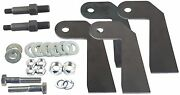Universal Shock Relocate Brackets And P19 Stud Mount For Custom Weld Car Or Truck