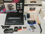 Neo Geo Snk Aes Console Complete In Box + Controller/joystick/memory Minty