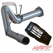Mbrp 5 Filter Back Exhaust Sct X4 Tuner For 15-16 Ford Powerstroke Turbo Diesel