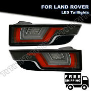 For Rang Rover Evoque 2012-18 Clear 4in1 Led Tail Lights Brake Turn Signal Lamp
