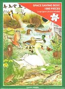 Otter House 1000 Piece Puzzle - Country Wildlife