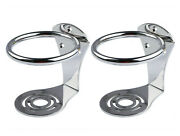 2x Marine Stainless Steel Ring Cup Drink Holder For Boat/truck Rv Pattern Design