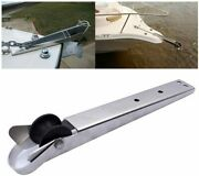 Stainless Steel Boat Heavy Duty Bow Anchor Roller Self Launching 15-1/4