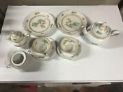 Vintage Schumann Bavaria Tea Set For Two. Very Rare Pattern Dated Roughly 1940's