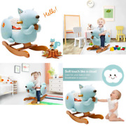 Labebe ☛ 10 Off - 7 Days Only ☚ Baby Rocking Horse Wooden, Plush Rocking Horse,