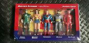 Justice League The New Frontier 3-inch Mini Bendable Action Figure Box Set