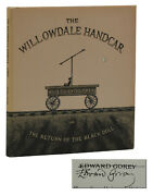 The Willowdale Handcar Signed By Edward Gorey Reissue Edition 1979