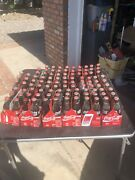 Classic Coke Bottles. I Could Tell You What Each One Is And I Have More Pictures