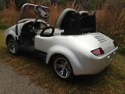 Custom Golf Cart Body Kit Widow Maker Front And Rear With Lights Hood And Trunk
