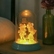 Disney Mickey Mouse 90th Anniversary Bedside Table Lamp Nightstand Japan