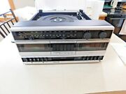 Vintage New In The Box Philco Compact Stereo Model M4728twa With Manuals