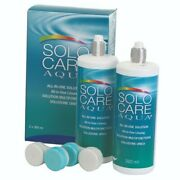Solocare Aqua 2 X 360ml All In One Contact Lens Solution For Soft Lenses
