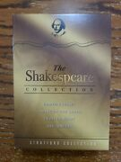 Dvd The Shakespeare Collection With Inserts