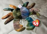 1996 Ty Beanie Babies Claude Style 4083 With Errors And Offset Eyes Rare