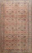 Antique Floral Anatolian Hand-knotted Turkish Oriental Area Rug Wool Carprt 6x9