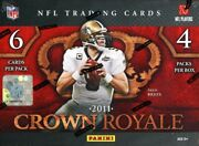 2011 Panini Crown Royale Football Hobby 12 Box Case Blowout Cards