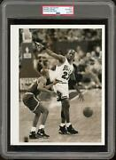Michael Jordan C1990s Psa/dna Type 1 Chicago Sun Times Press Photo