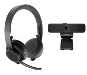 Logitech Personal Video Collaboration Kit Zone Wireless Headset And C925e Webcam