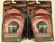 2 Nip Nerf Fire Vision With Hyper Bounce Ball Works With Firevision Equipment