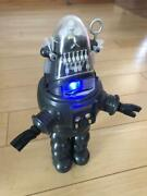 D-toy Robby The Robot Bank Electronic Talking Coin Bank And Alarm Clock Used Fedex