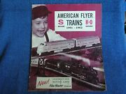 1961-1962 American Flyer S Guage And H-o Guage Trains Catalog/24 Pages