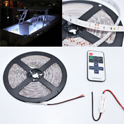 12v For Camper Rv 16ft White Led Awning Party Light Wireless Remote Controller