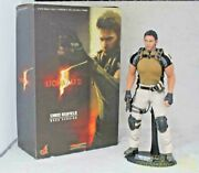 Used Hot Toys 1/6 Resident Evil Biohazard 5 Chris Redfield Bsaa Ver Vgm06 Figure