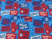 John Cena Crowd Of Fans Wrestling Cotton Fabric Mask Cuts And More