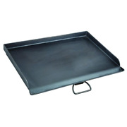 Professional Griddle Heavy Duty 16 X 24in Seasoned Steel Large Plate Camp Chef