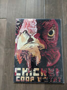 16 Chicken Coop Rooster 3d Cutout Retro Usa Steel Plate Display Ad Sign