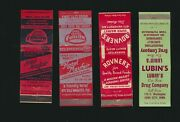 1950and039s Matchbook Hotel Mayfair Sioux City Iowa Dark Red