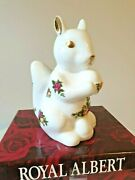 Royal Doulton / Royal Albert Old Country Roses Squirrel Figure