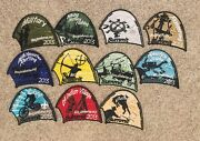 Boy Scout 2013 National Jamboree Monthly Promo Lot Of 11 Different Tent Patches