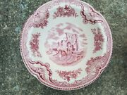 Johnson Brothers Old Britain Castles Pink Cereal Bowl 4740805 Lot X 5 Or 6 Plate